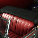 1929 Stutz Black Hawk seats and hood bag