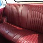 mini copper s rear seat